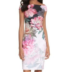 Ted Baker Emly off the shoulder dress-size 12-NWT